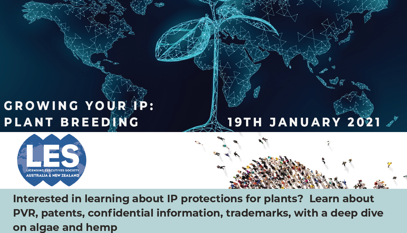 Growing your IP: Plant breeding intellectual property